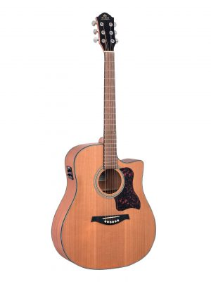 Gilman GD12CE Electric Acoustic Guitar with Pickup
