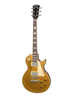 J&D Luthiers LP-Style Electric Guitar (Gold Top)